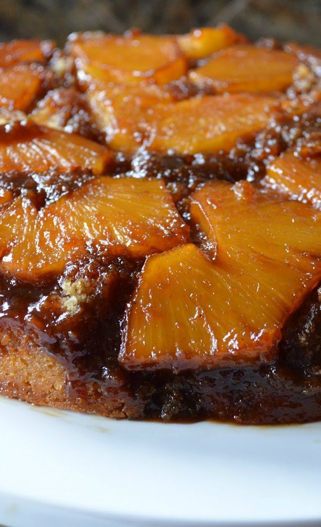 Pineapple Upside Down Cake From Scratch