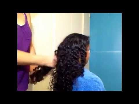 Trucos para desenredar el pelo rizado