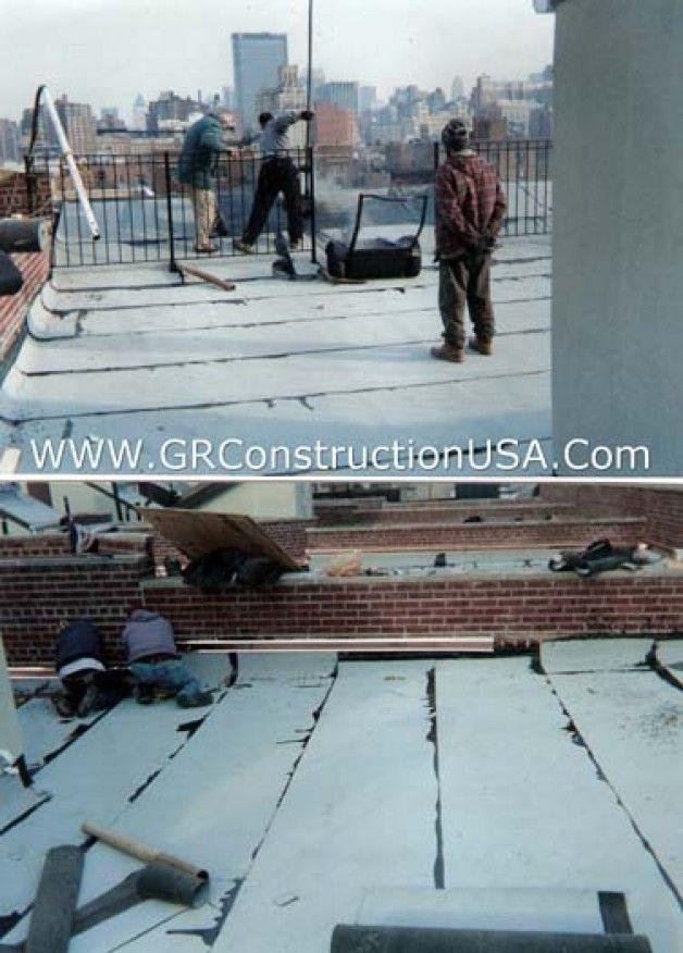 Roofing Contractors In New York City Manhattan Bronx New Roofs Roof Repairs Roofing Contractors Roofing Roof Repair