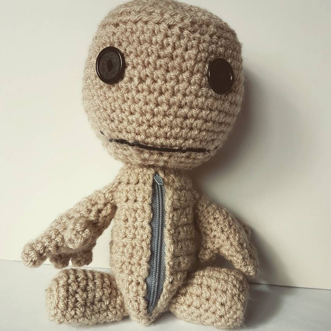 This cutie is Sackboy from Little big planet i did years ago. I ...