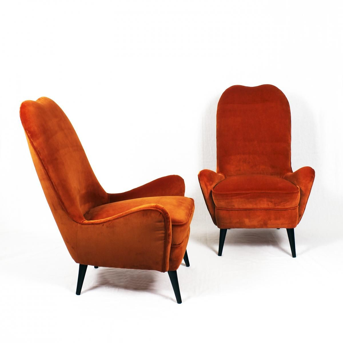 Vintage Bedroom Chairs, 1940s, Set of 2 for sale at Pamono