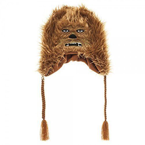 Star Wars Chewbacca Laplander HAT CAP Knit Winter HAT Beanie HAT  Bioworld   starwars  chewbacca  beanie  laplander 89c930ae625