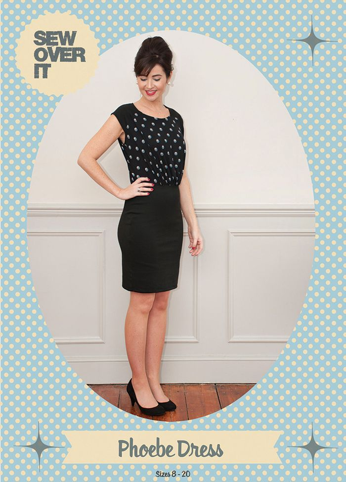Meet the new Phoebe Dress sewing pattern from Sew Over It!   Sewing ...