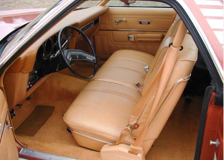 Ford Ranchero interior | Dream cars | Ford, Weird cars, Trucks