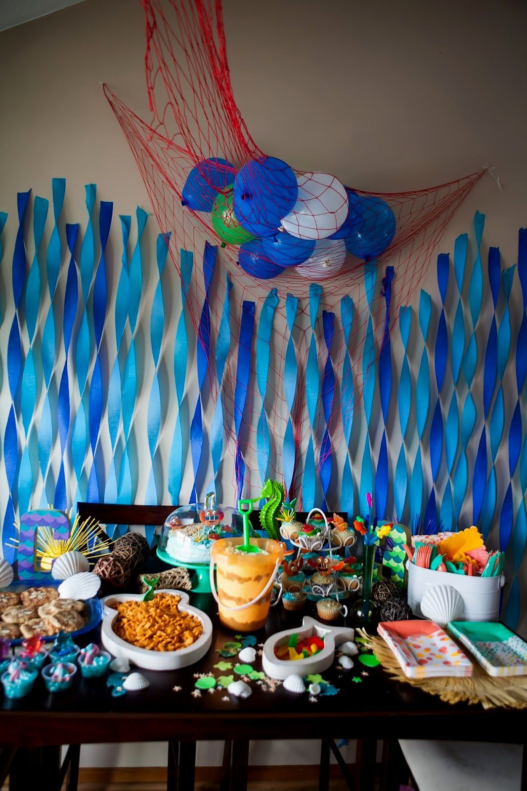 Nice Beach Theme Party Decorating Ideas Part - 1: Pinterest Beach Party Decoration Ideas