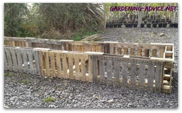 Building Raised Garden Beds From Used Pallets For Nearly