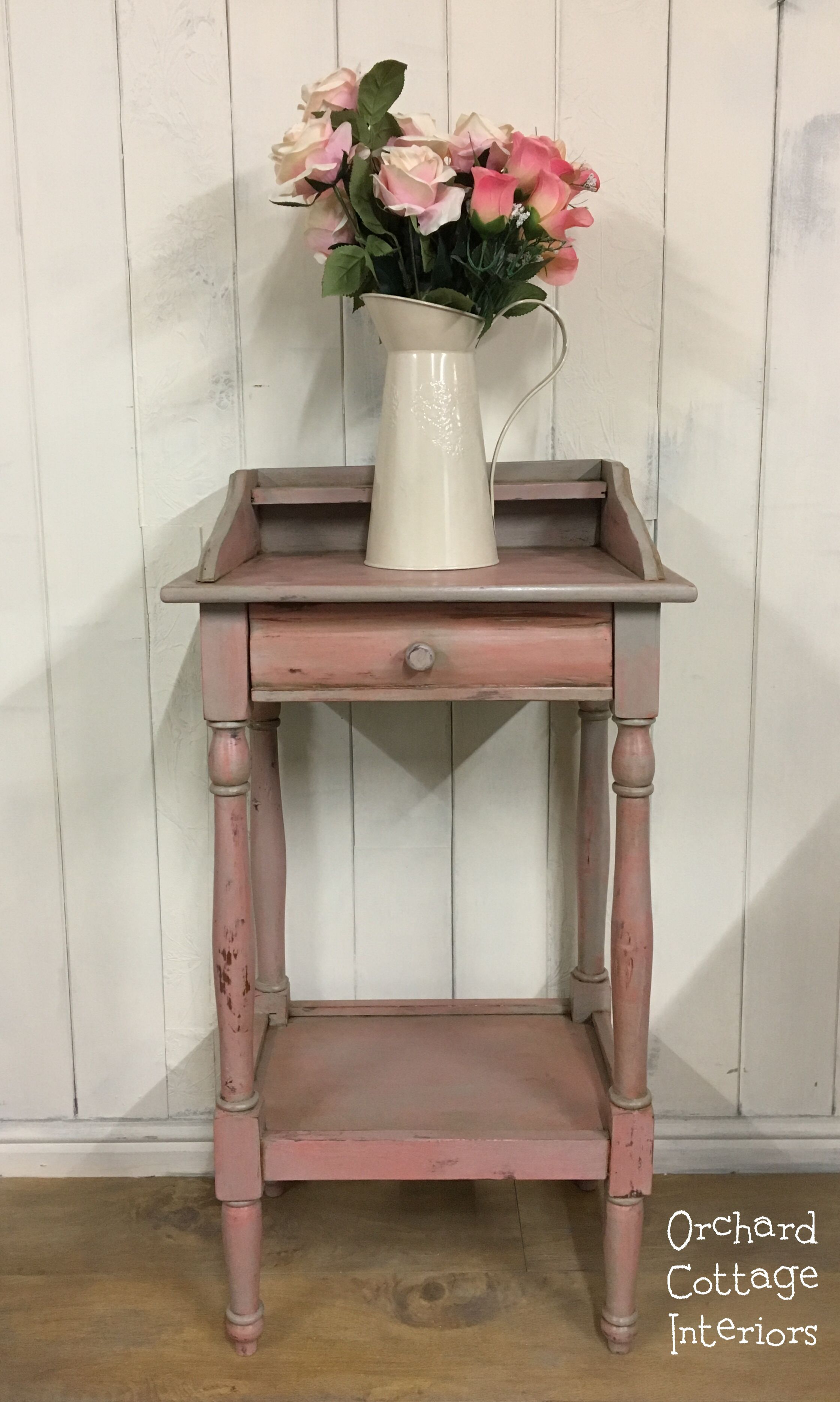 - Hand Painted Accent Table Refinished With Annie Sloan Chalk Paint