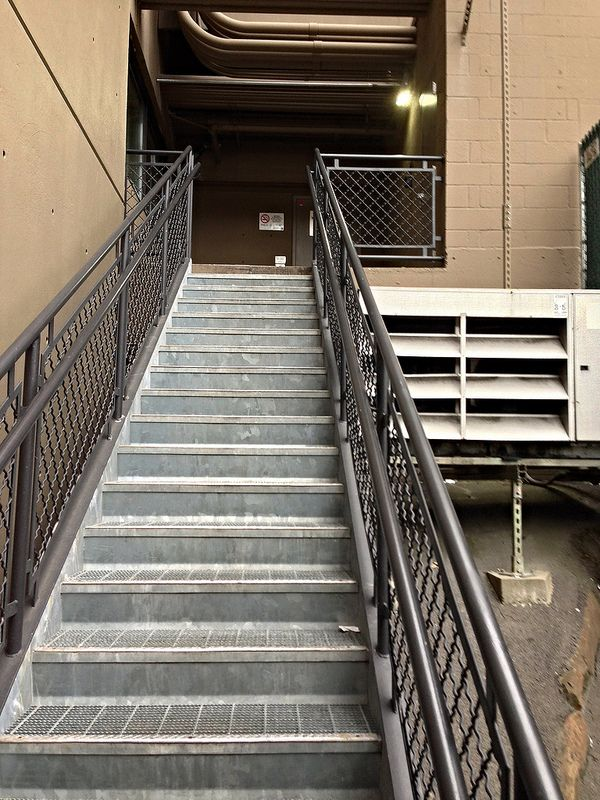 2014 YIP - Day 213: Back stairs