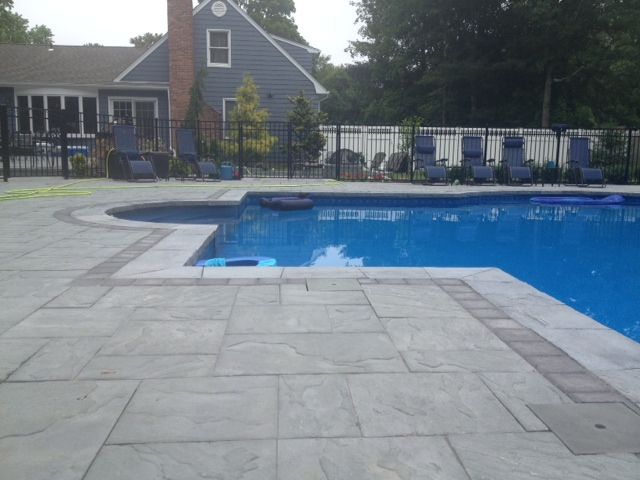 Cambridge Pool Patio Installed By Sk Pools Cambridge Pavers With