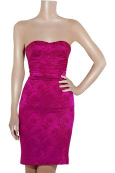 L'Wren Scott - Pivoine jacquard dress.