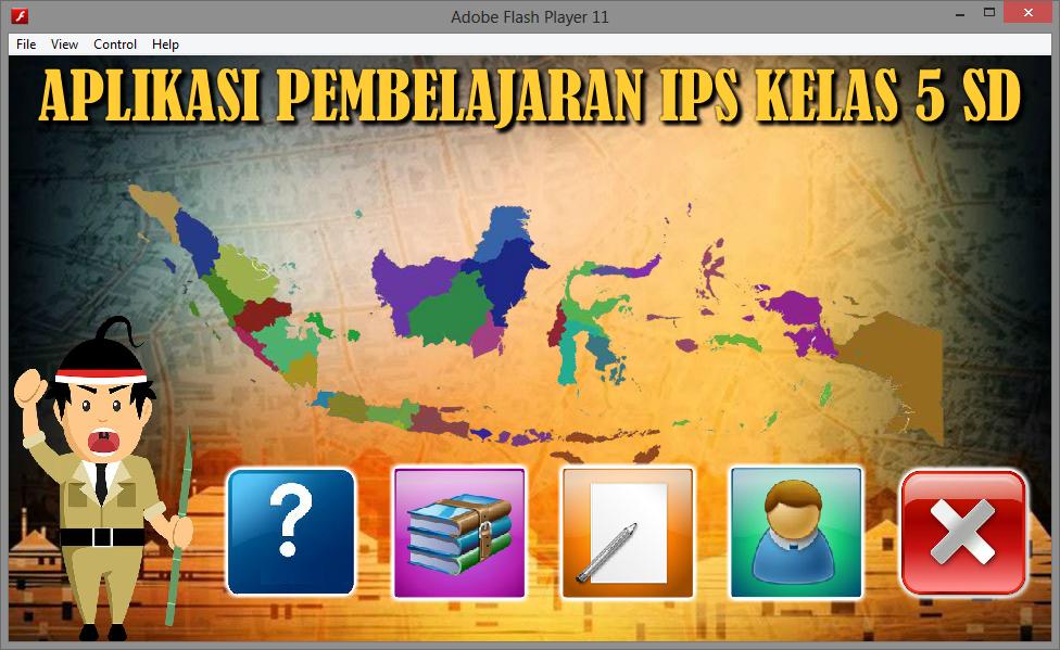 Aplikasi Media Pembelajaran Android Ips Perjuangan Rakyat Game Edukasi Flash Multimedia