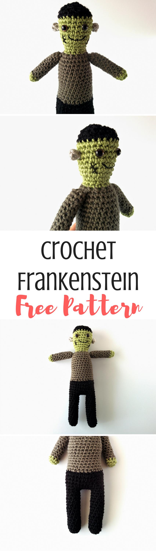 Frankenstein Plushie Crochet Pattern