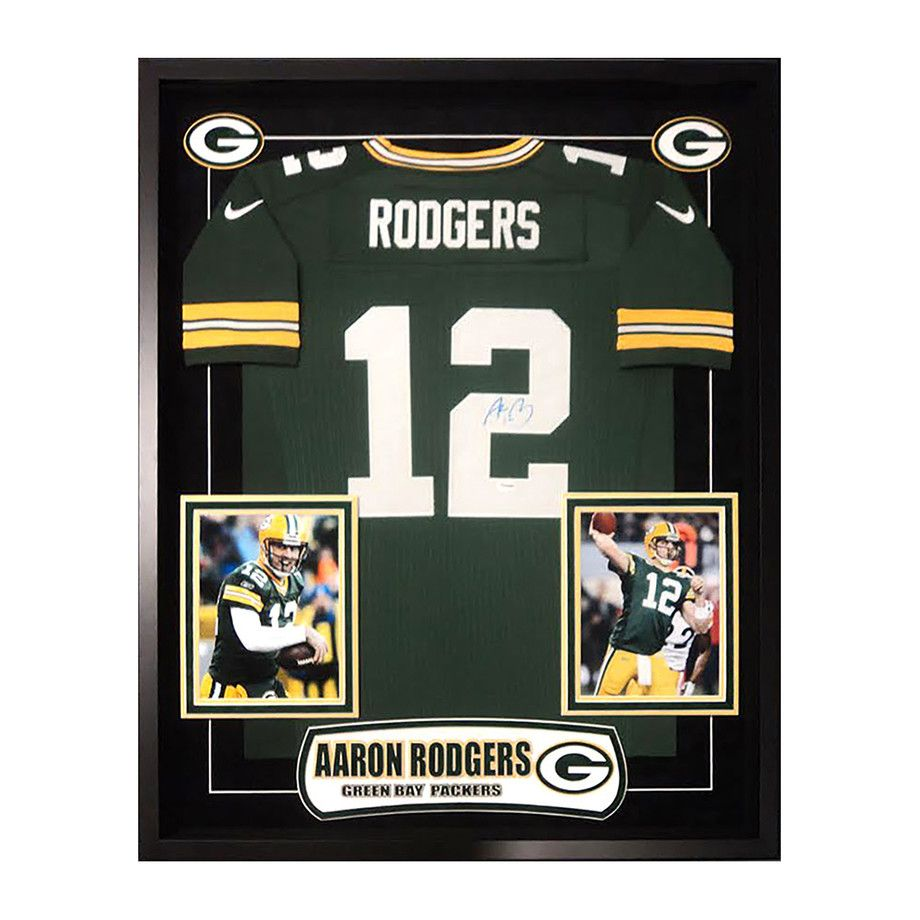 Signed Framed Jersey Aaron Rodgers Affiliate Framed Signed Jersey Rodgers Framed Jersey Aaron Rodgers Jersey