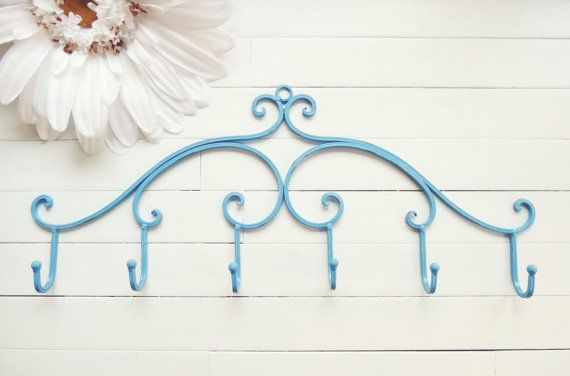 Stocking Holder Wall Hooks Jewelry Rack by WillowsGrace