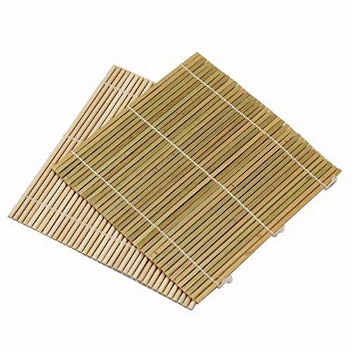 Set of 6 Bamboo Sushi Rolling Mats 9 1/2 Inches Square Ha... https://www.amazon.com/dp/B0038HQNQC/ref=cm_sw_r_pi_dp_YZIyxbGH601S1