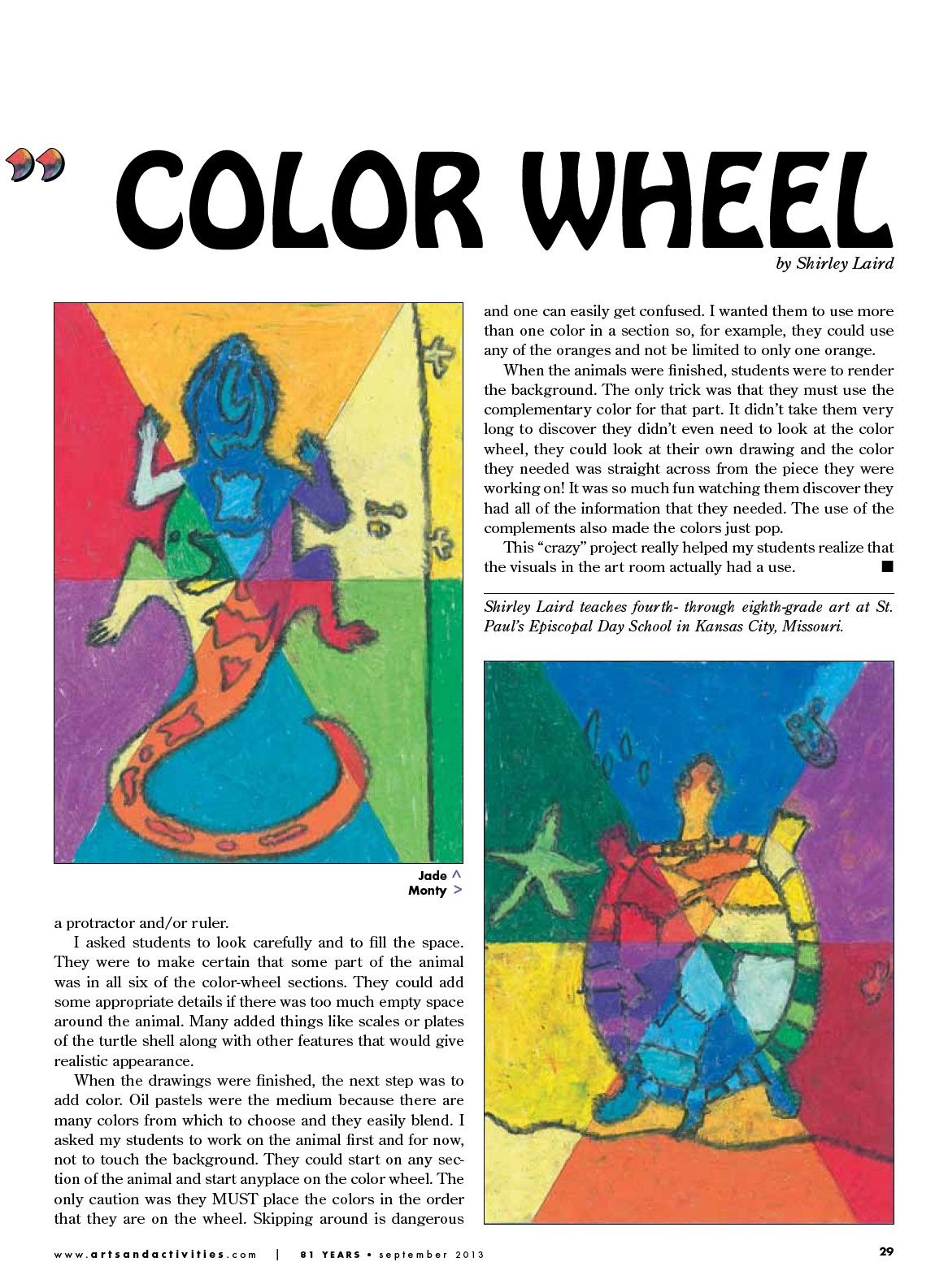Arts Activities Page 16 creative color wheels Art
