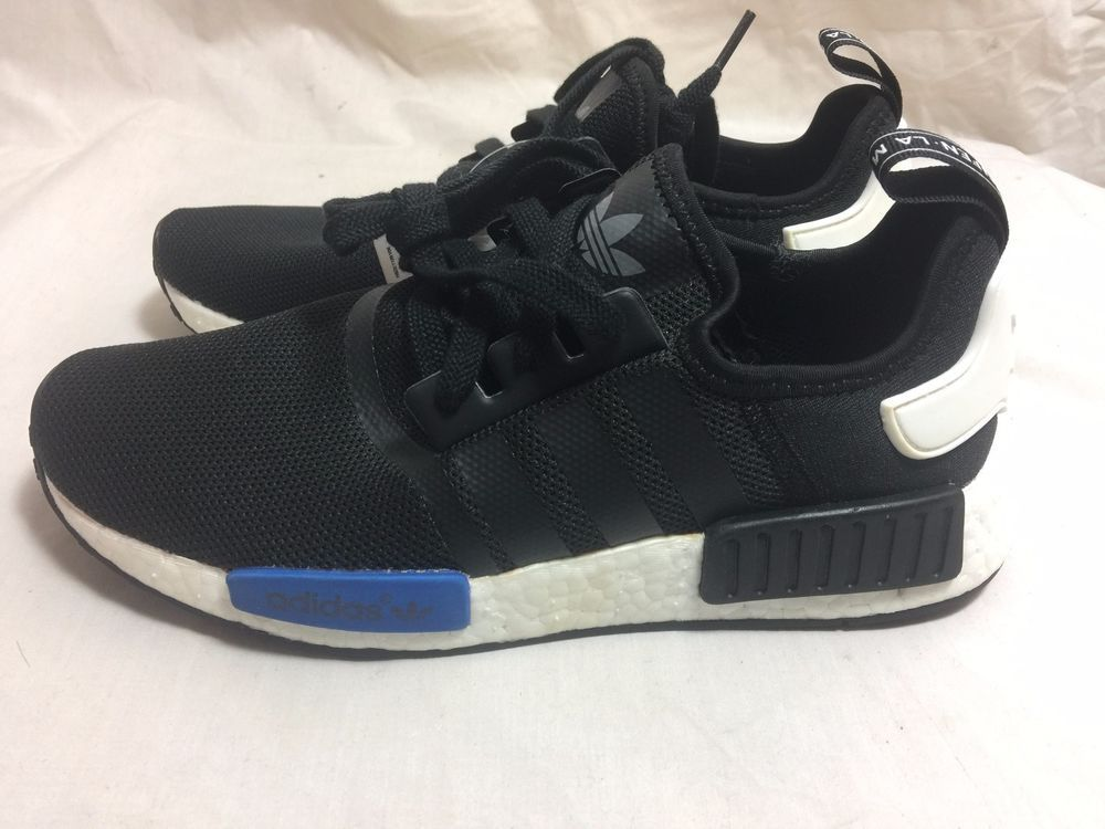 6ed0d7ccc08d8 Adidas NMD R1 Tokyo Black Blue S79162 Size 8  adidas  AthleticSneakers