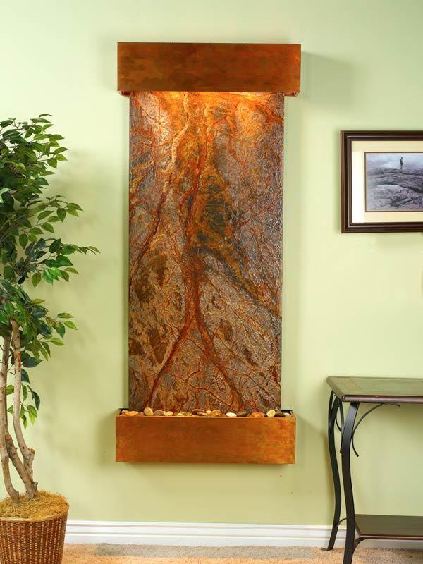 Copper Indoor Fountain   Fountains   Pinterest   Indoor fountain ...