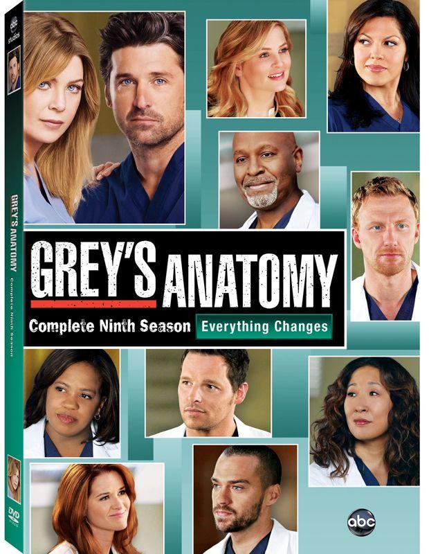 Greys Anatomy 2013 Season Greys Anatomy Season 9 Dvd Release