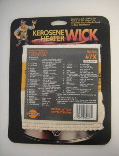 Hallmark Kerosene Heater Wick 7 For Models HTR95 ** For more