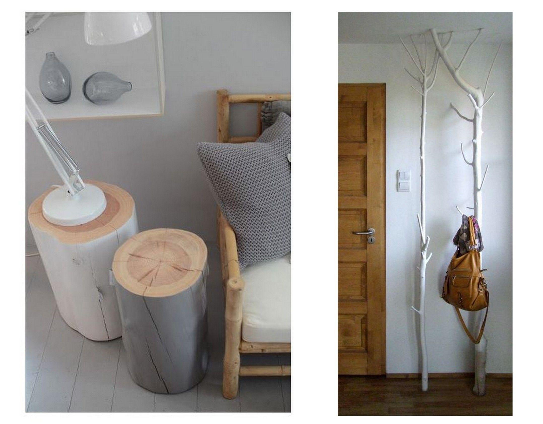 chute de bois branche tronc 5 id es d 39 am nagement. Black Bedroom Furniture Sets. Home Design Ideas