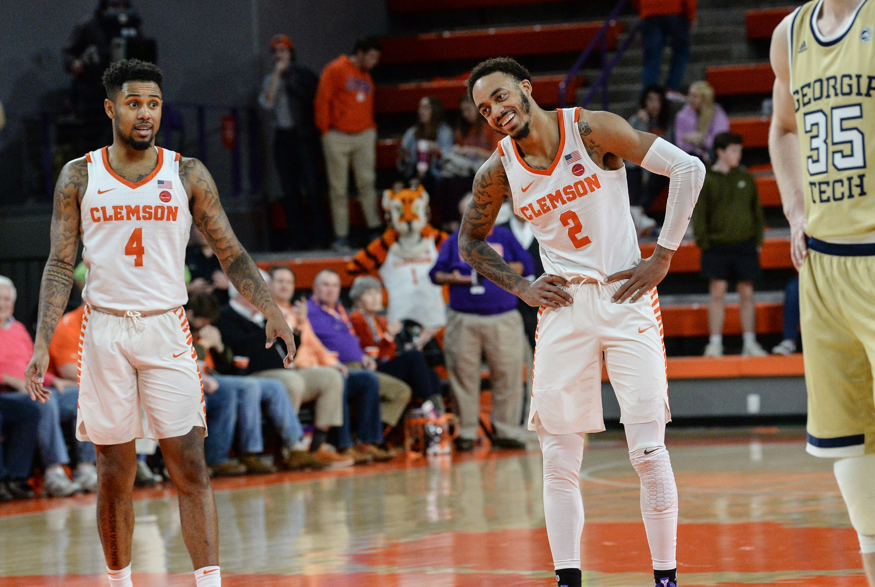 Marcquise Reed scores careerhigh 30 points as Clemson