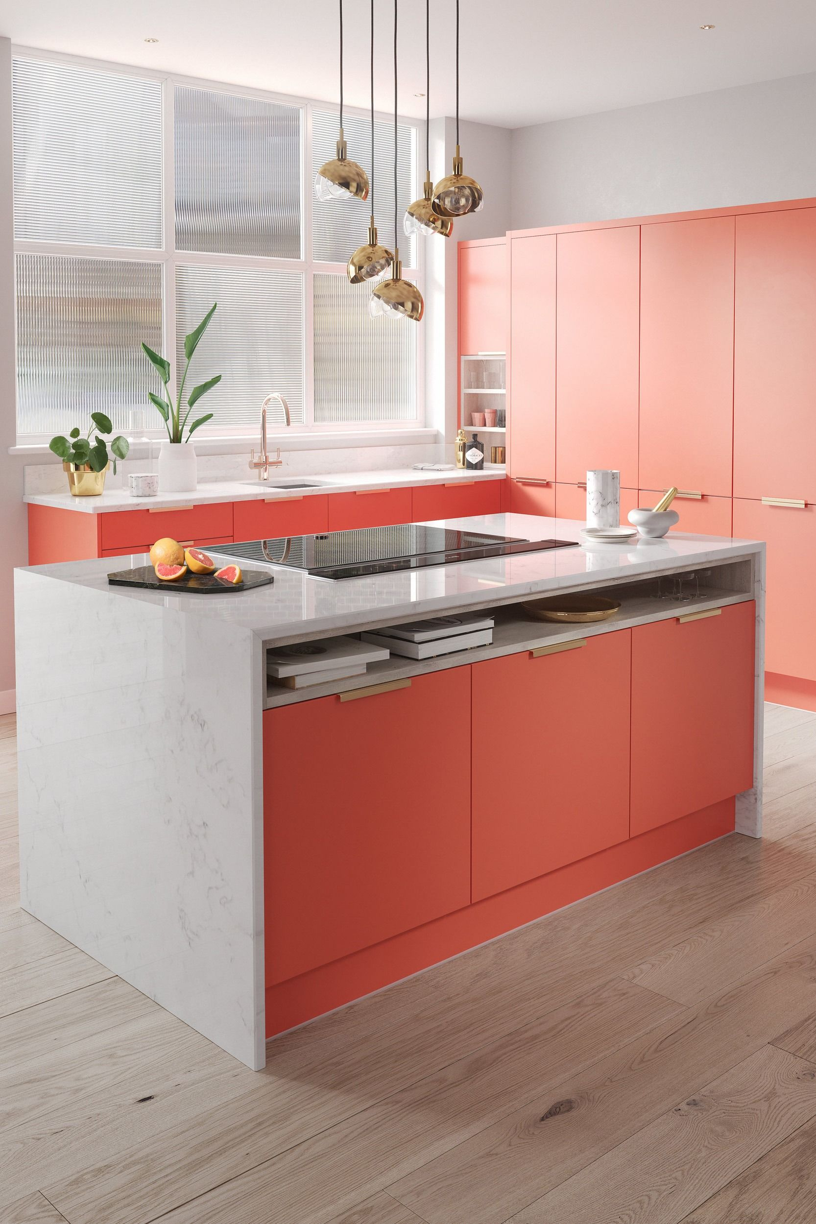 Coral Cgi Kitchen Coral Kitchen Kitchen Projects Kitchen Design