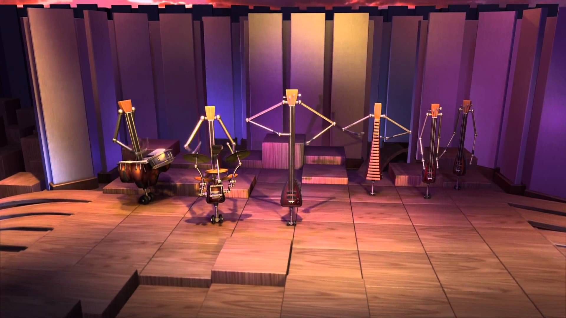 Animusic - Pogo Sticks [HD] | Music | Pogo stick, Music classroom