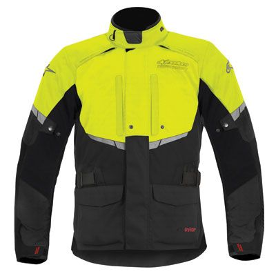 The Alpinestars Andes Drystar Textile Motorcycle Jacket Is A Fully