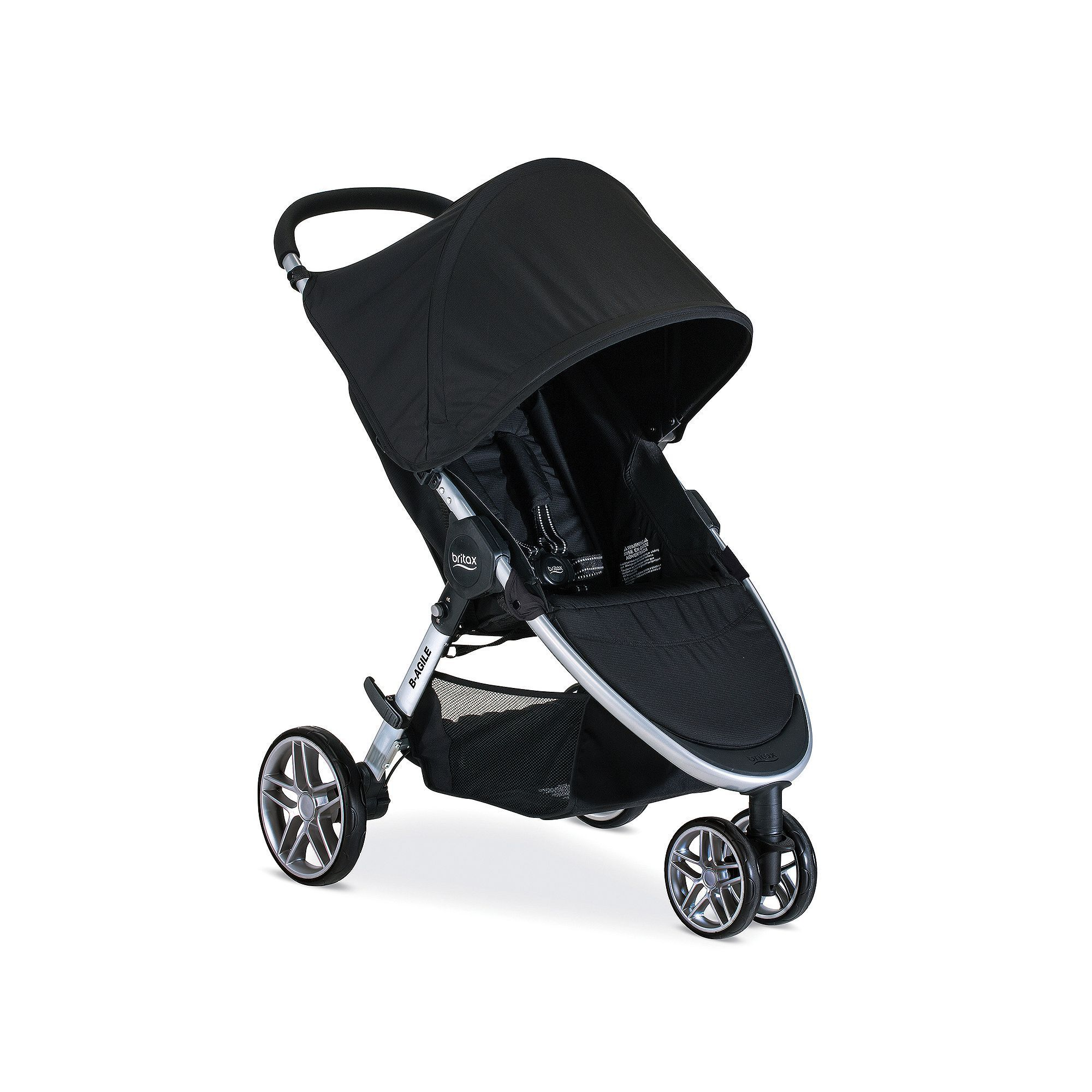 Enjoy versatile lightweight travel functionality with the BRITAX B Agile 3 Stroller Designed with multi tasking parents in mind this convenient