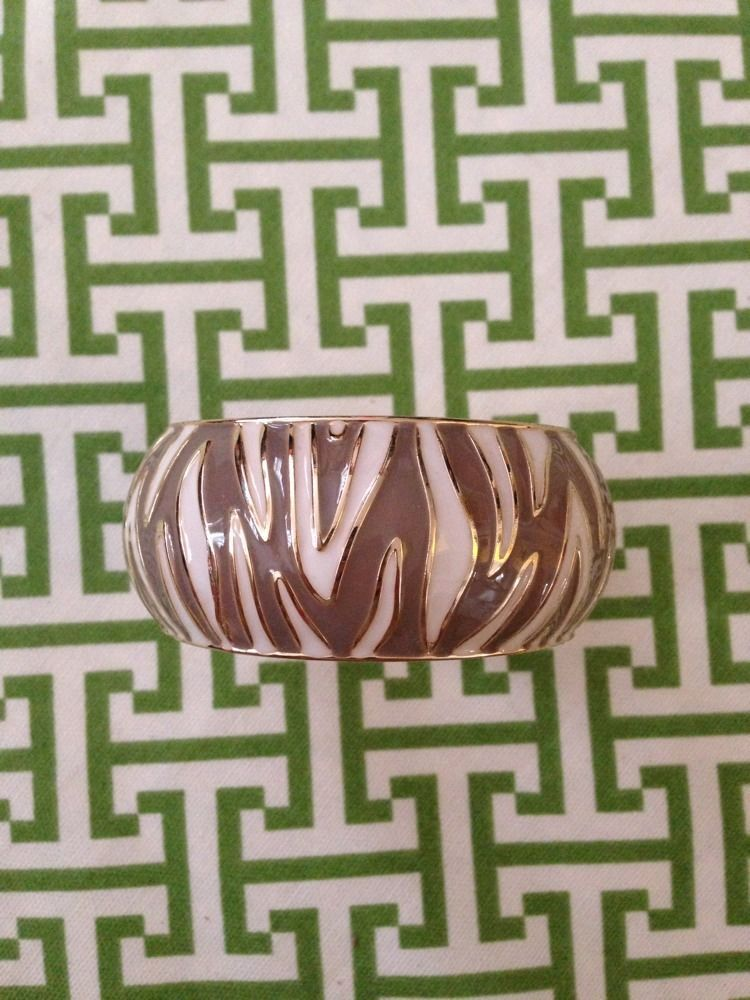 Nordstrom ~ Cuff Bracelet w Animal Print Detail ~ Lacquer ~ NWOT ~  #Nordstrom #Cuff