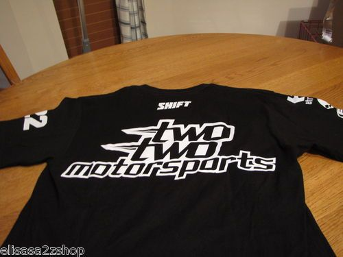 Men's Etnies two two motorsports 22 factory effex S NEW T shirt surf skate RARE  1
