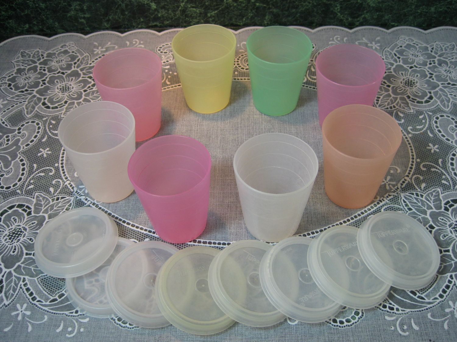 How many of us went to a Tupperware Party and bought these because we needed to buy something!  These are noe going for $45.00 on Etsy!