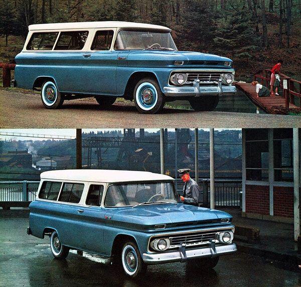 1962 Chevy Suburban Carryall Classic Trucks Chevy Trucks Classic Cars Trucks