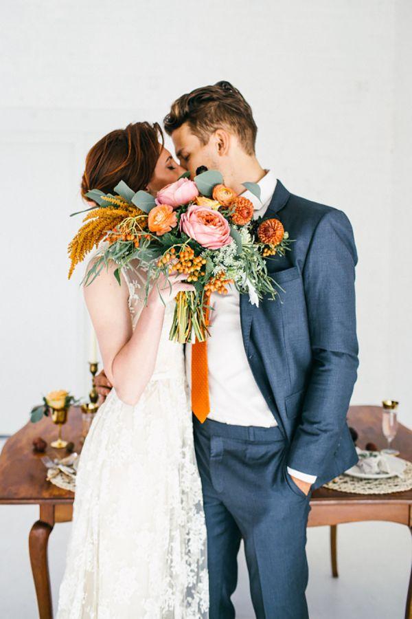 Moderne Herbsthochzeitsinspiration   – sister's Jamaican wedding