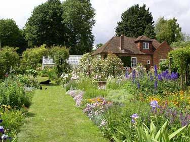 A garden by Gertrude Jekyll for Charles Holmes in 1908 in Hampshire.