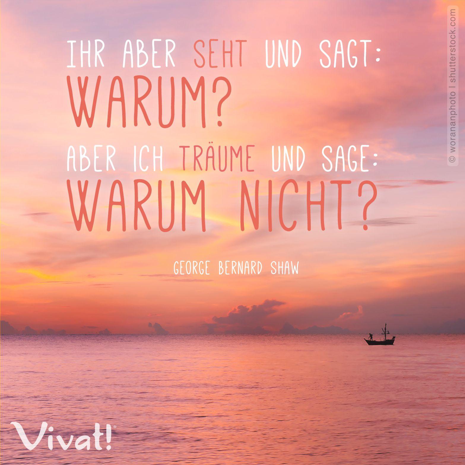 #Zitate Und #Sprüche: »Ihr Aber Seht Und Sagt: Warum? Aber