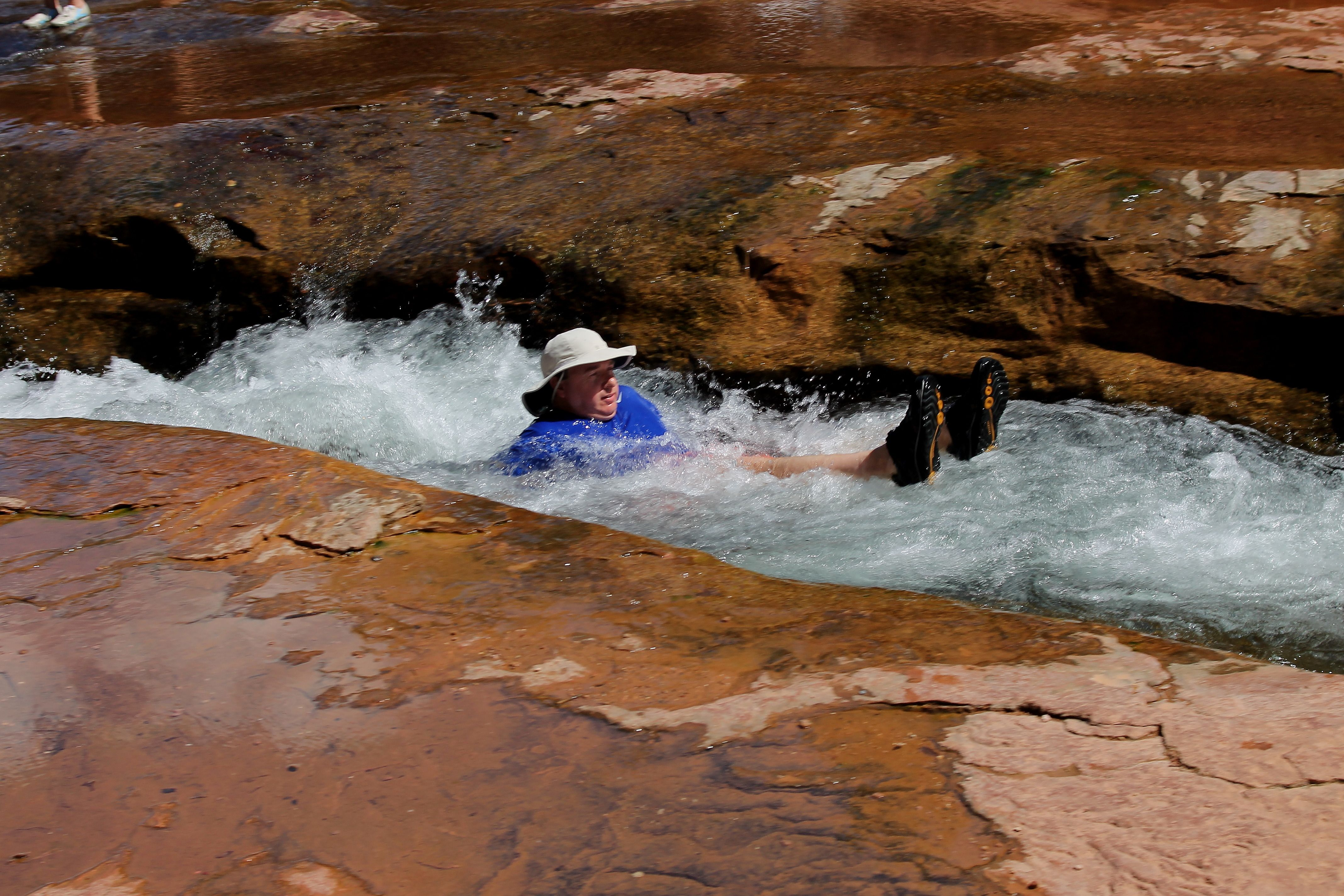 Sedona Az Slide Rock State Park Photo By Ron Redfern Swimming Spot Pinterest Park Photos