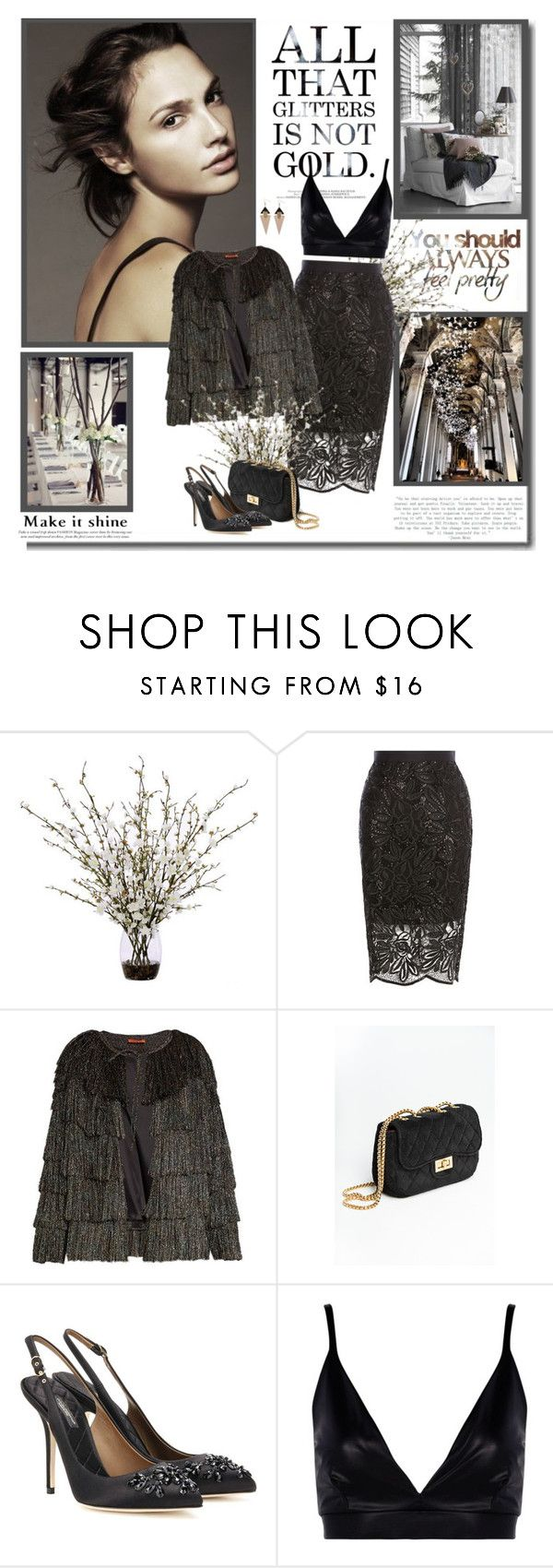 """""""Make it shine!!"""" by lilly-2711 ❤ liked on Polyvore featuring Lux-Art Silks, Coast, Missoni, Dolce&Gabbana, Boohoo and Toolally"""