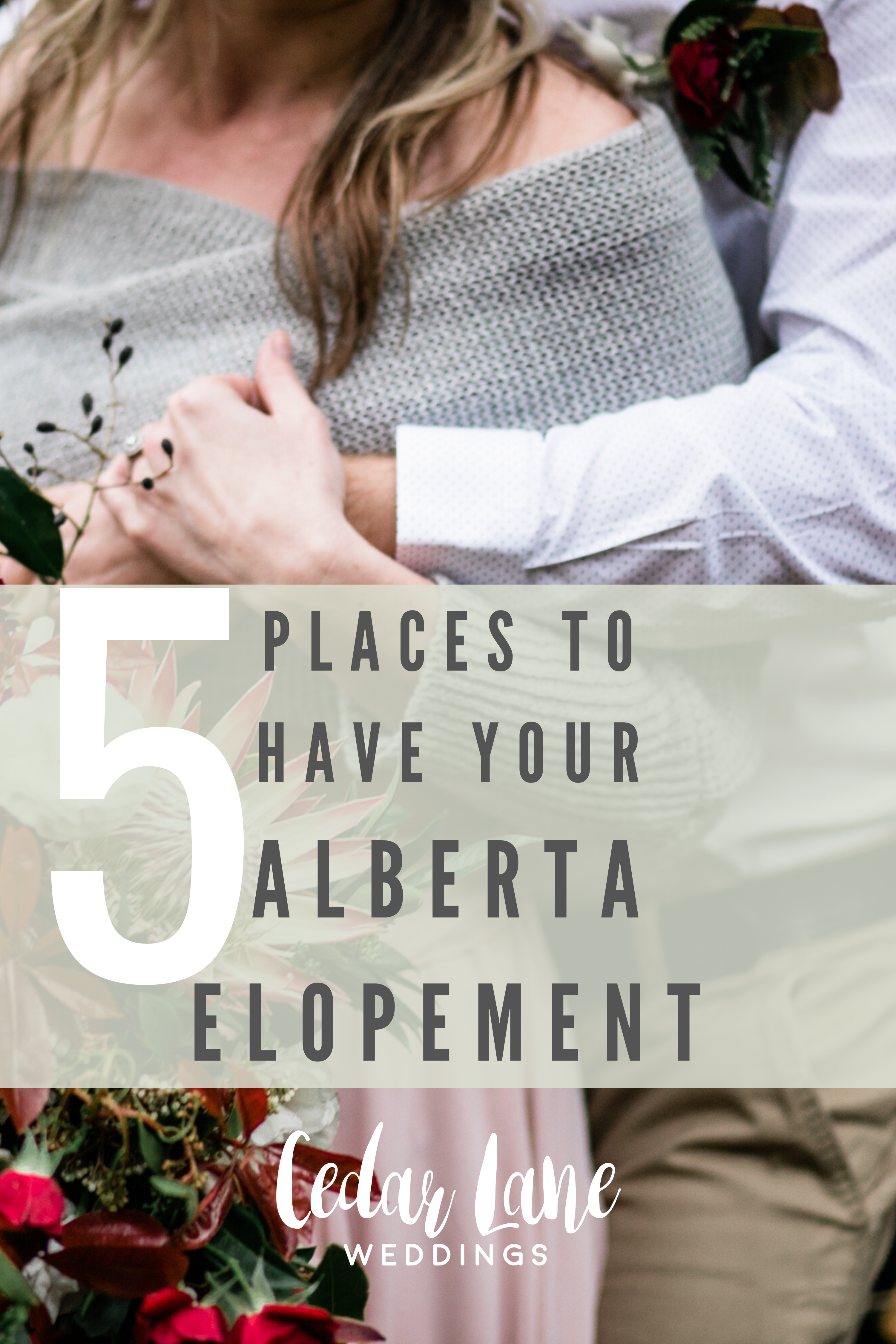 5 Places to have your Alberta Elopement