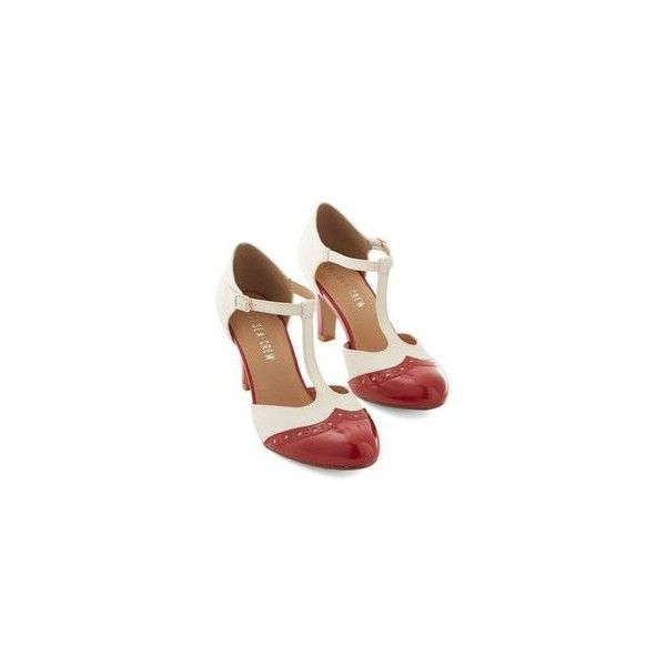 1920s Style Shoes for Women- Flapper, Gatsby, Downton Abbey via Polyvore featuring shoes, vintage oxfords, t strap mary jane shoes, mary jane shoes, 20s shoes and vintage oxford shoes