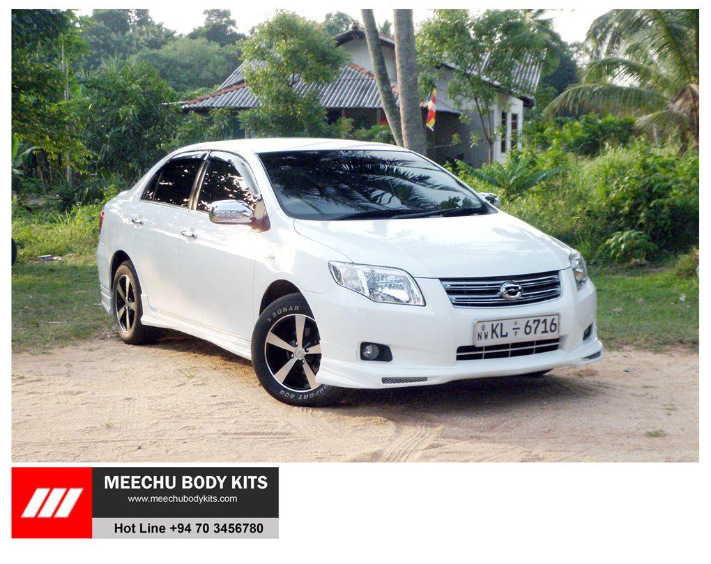 Toyota Corolla Axio Modified By MEECHU BODY KITS SRI LANKA
