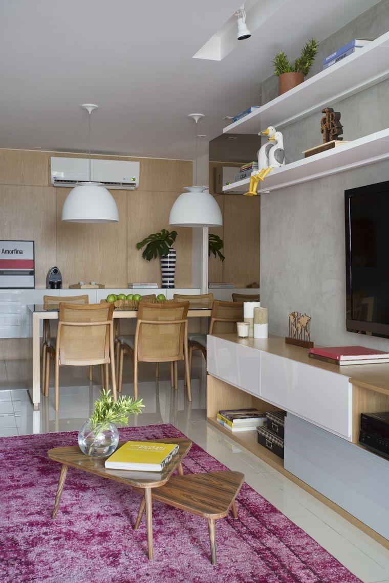 Apartamento Jovem E Atemporal Salas Pequenas Decoracao Sala