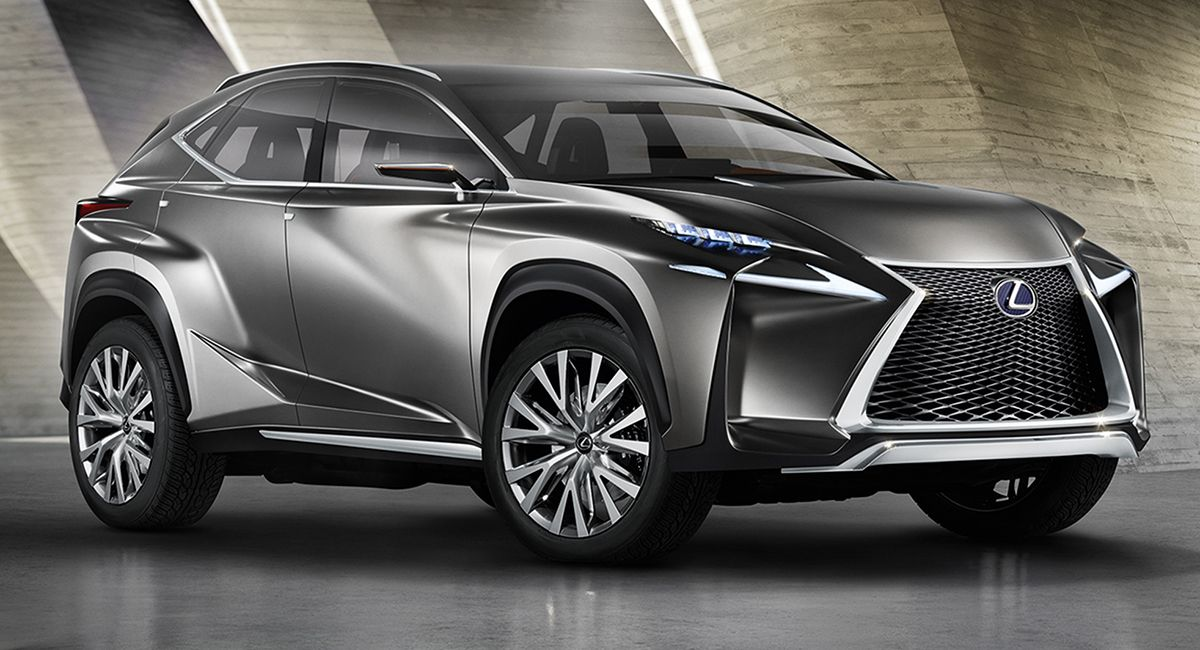 New Lexus Suv >> New Lexus Suv Lexus Lf Nx Concept Teases New Suv Styling Reviews