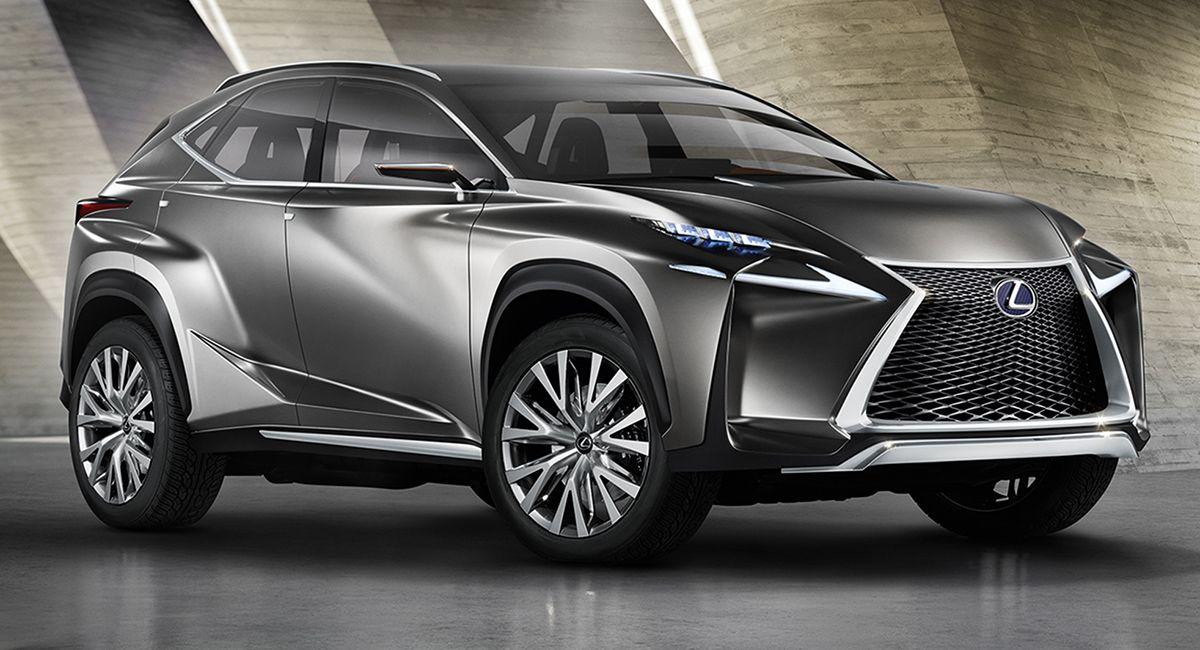New Lexus Suv >> New Lexus Suv Lexus Lf Nx Concept Teases New Suv Styling
