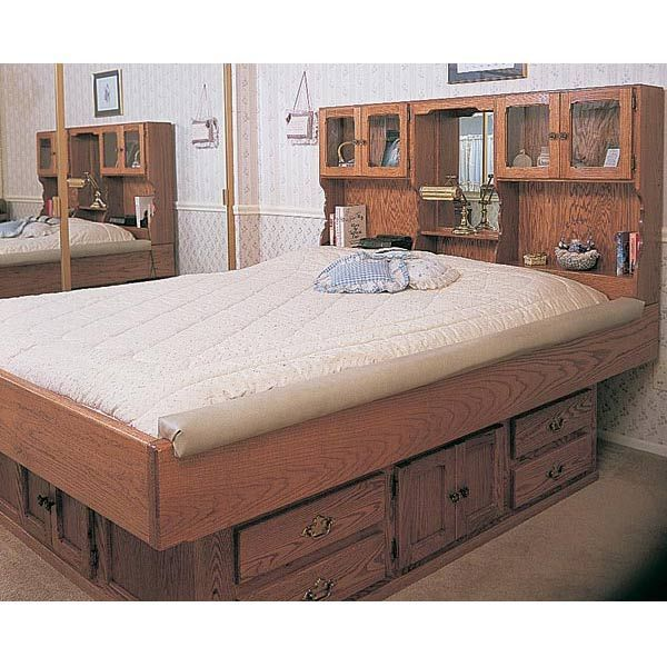 waterbed frame plan no 756