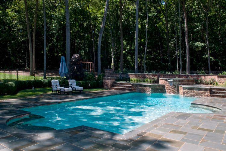 Custom Swimming Pool Designs Brookville NY | Pool Renovations/Ideas ...