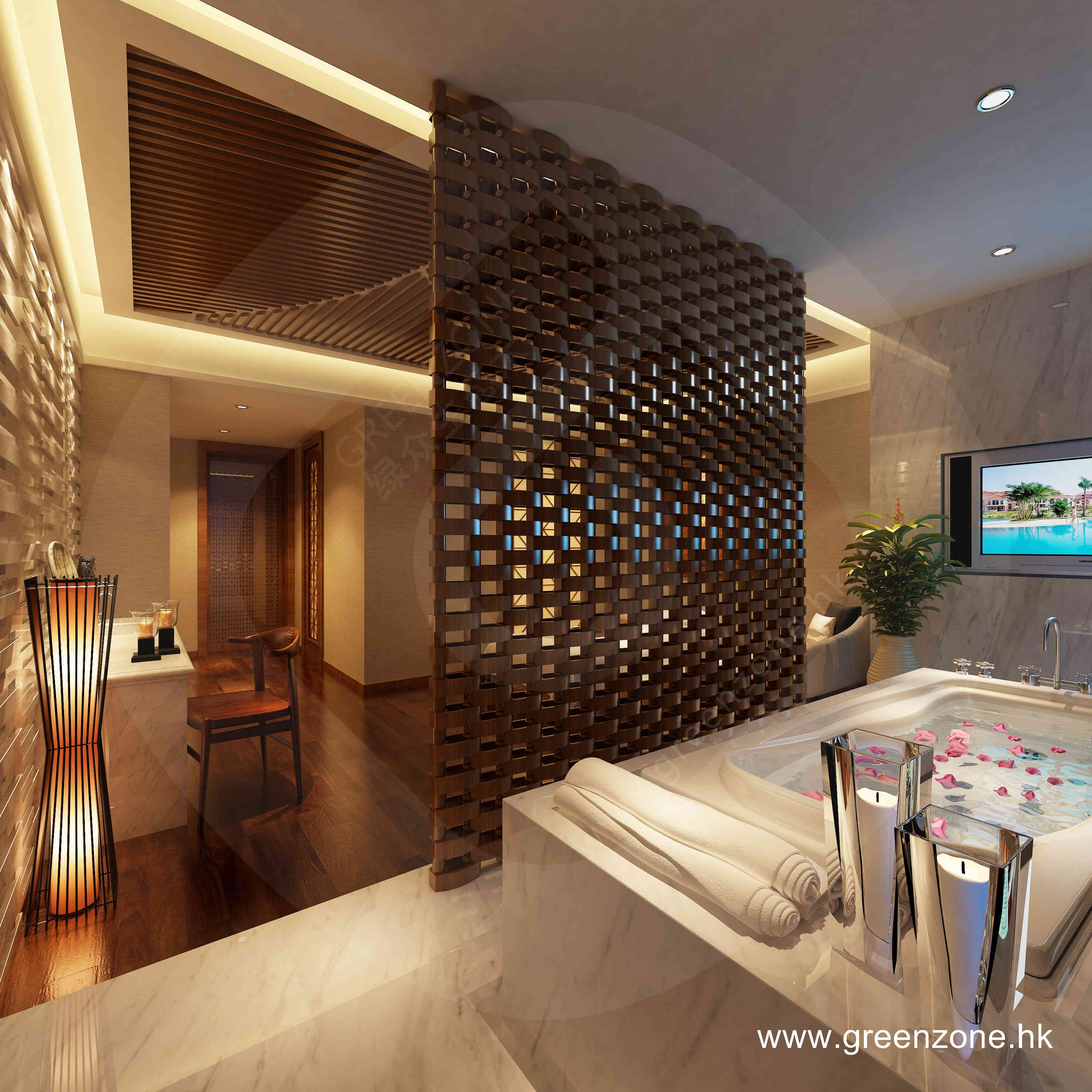 Interior Concrete Wall Design Plastic Imitation Wood Board Roof Architecture Modern Roofing House Roof
