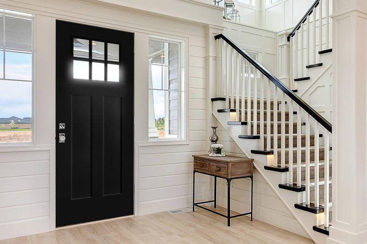 modern farmhouse interior door trim