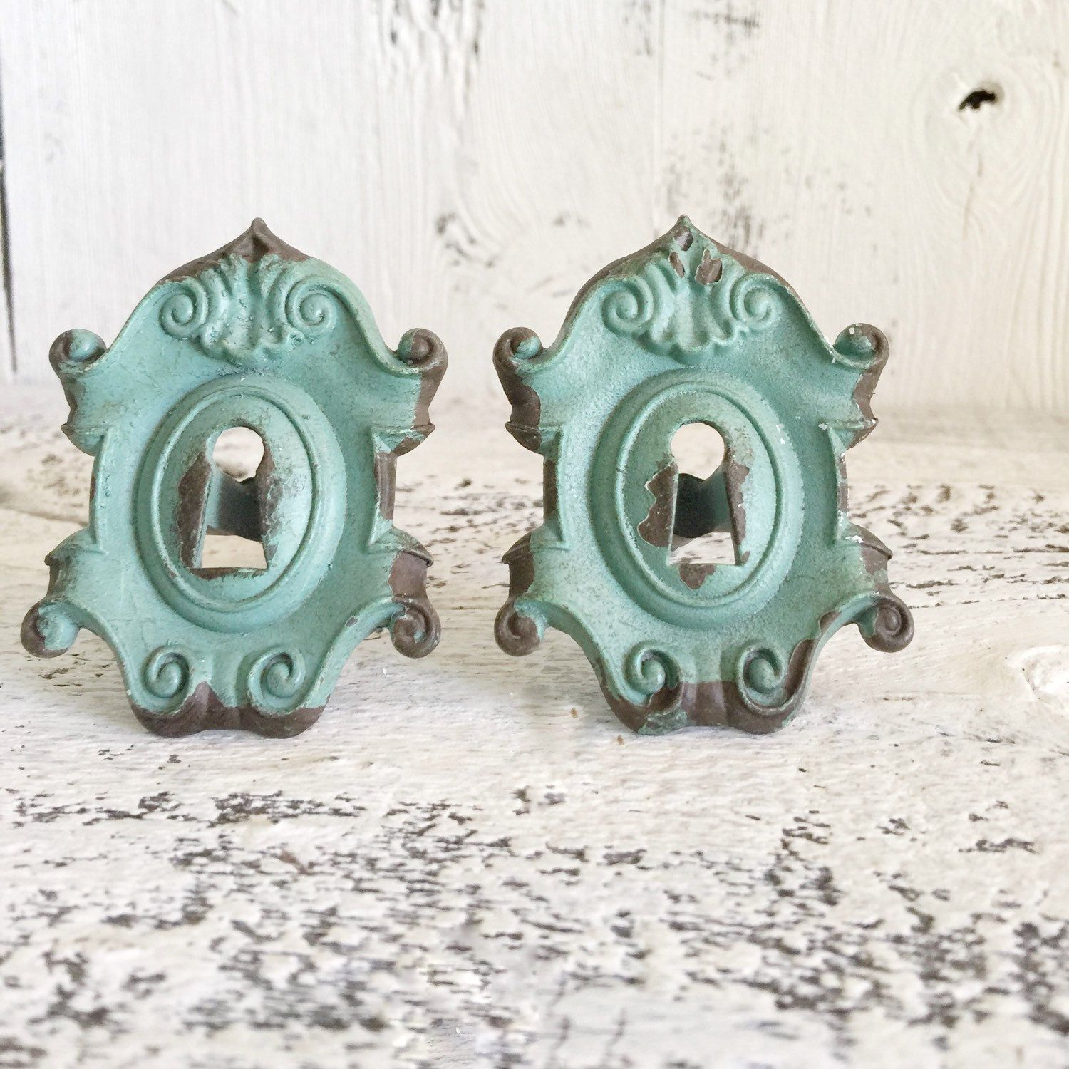 Antique Key Hole Knobs , Vintage Style Kitchen Cabinet Knobs ...